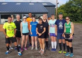 Sunday morning Training Run