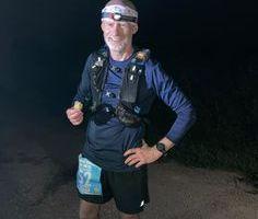 R86 Pete Sweeney looking good at 69 miles